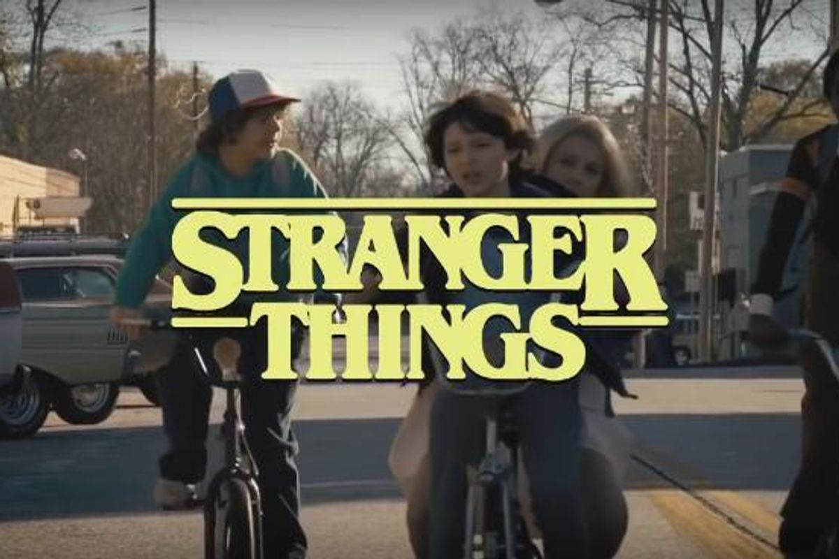 'Stranger Things' Reimagined As An '80s Sitcom