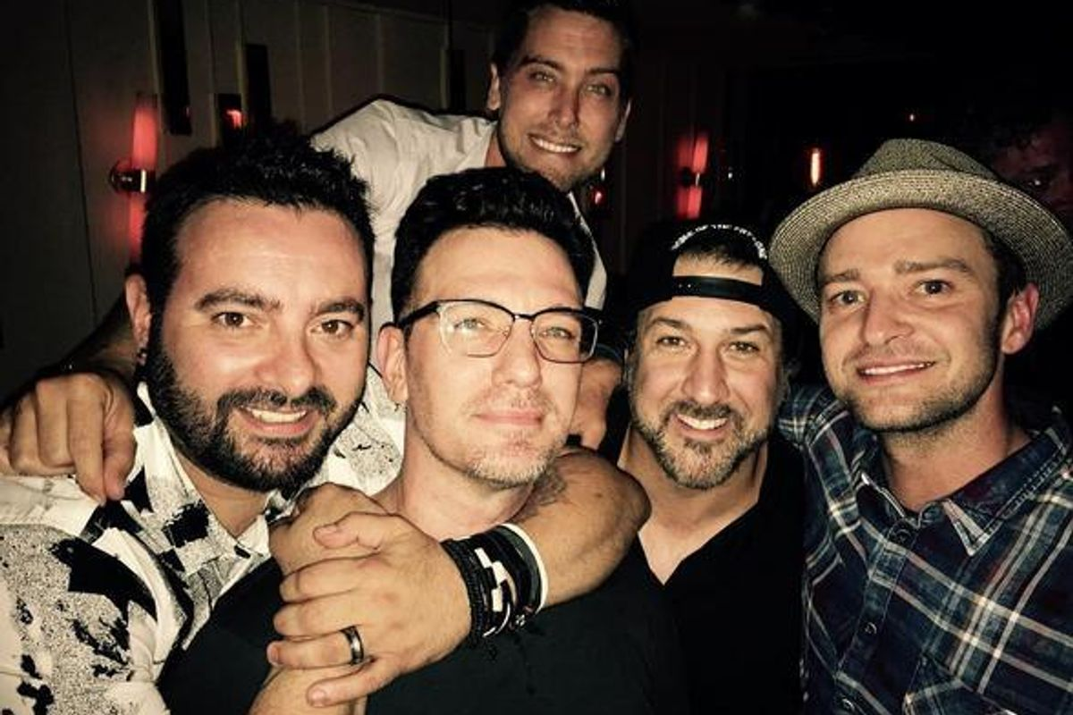 'NSYNC Reunited Last Night, And We Are All Going To Die Someday