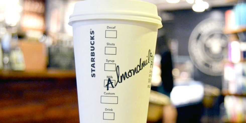 You Asked, Starbucks Listened: Almond Milk Coming to U.S. Stores Sept. 6