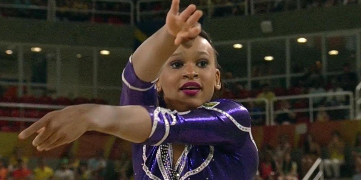 Watch This Brazilian Gymnast Slay Her Beyoncé-Themed Floor Routine