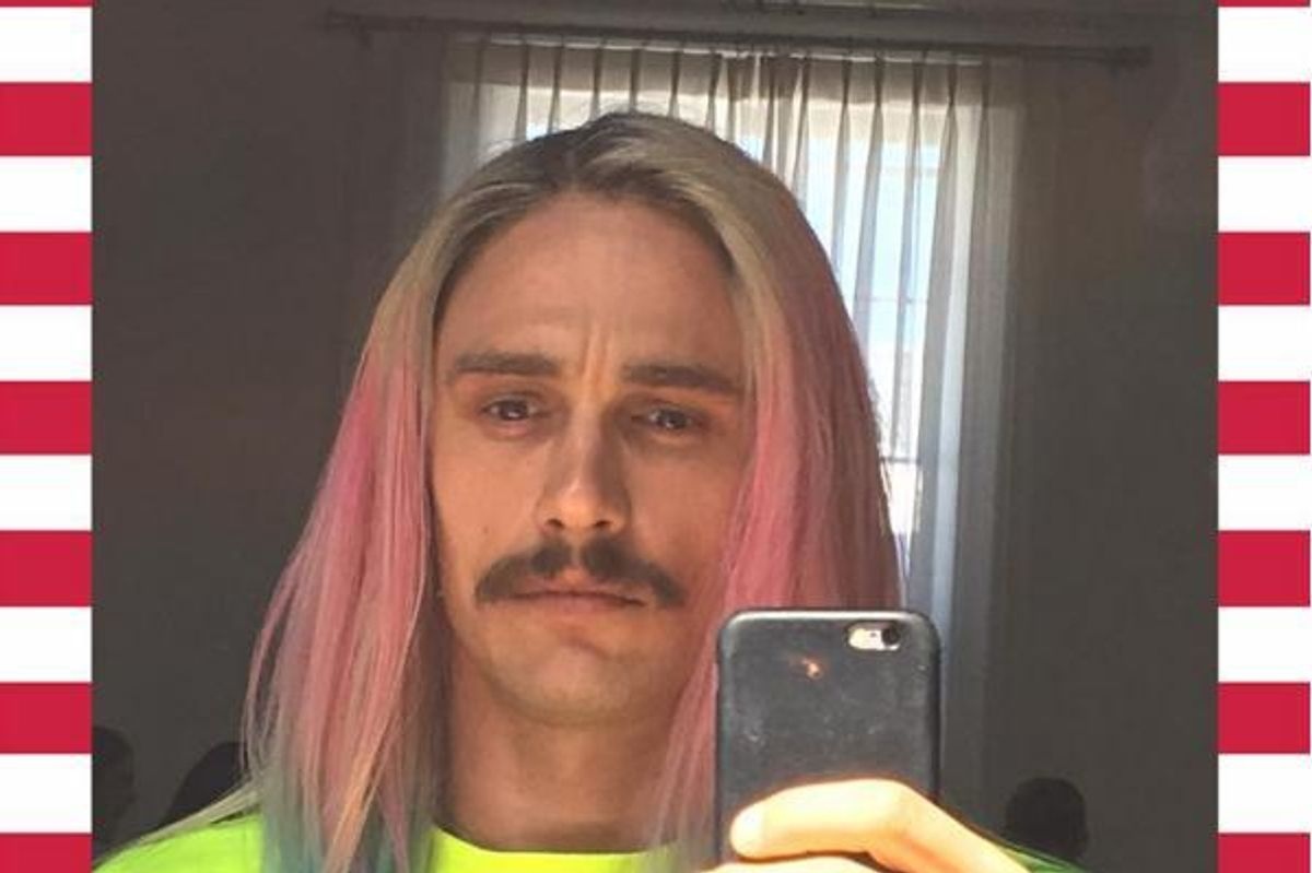 James Franco Channels Riff Raff Once Again, In Upcoming Riff Raff Video