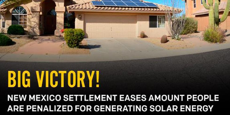 Big Victory for Solar Energy in New Mexico