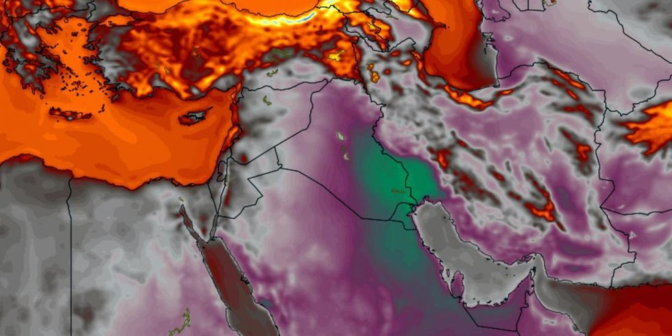 Epic Middle East Heat Wave Is Being Compared to Weapon of Mass Destruction