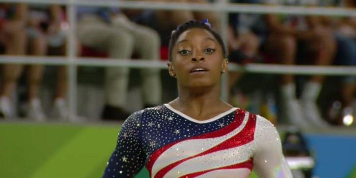 Simone Biles Wins Overall Women's Gymnastics Gold
