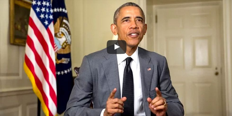 Obama: 'One of the Most Urgent Challenges of Our Time Is Climate Change'