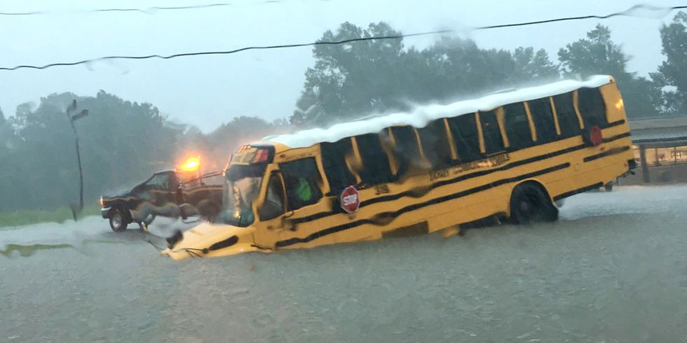Historic Flooding Swamps Louisiana: More Than 20,000 Rescued From Cars and Homes