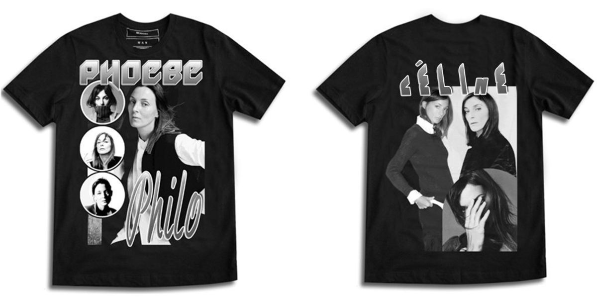 French Brand Puts Cult Fashion Designers on Mock 90s Band Tees