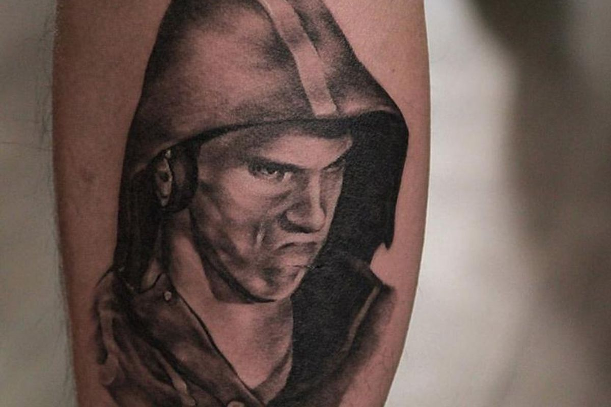 Someone Got A #PhelpsFace Tattoo