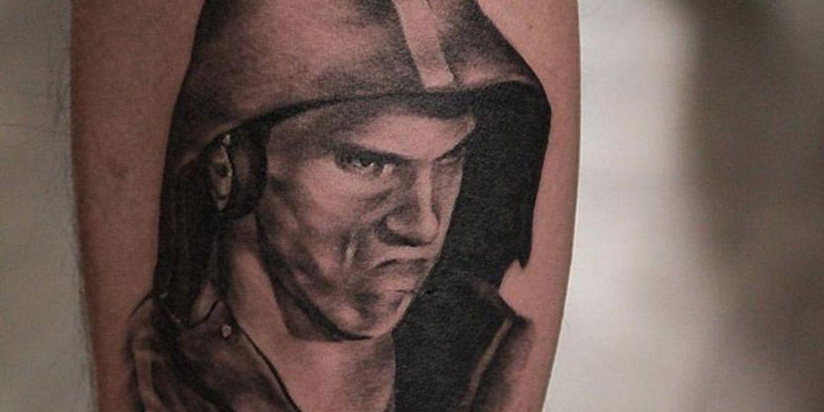 Someone Got A #PhelpsFace Tattoo