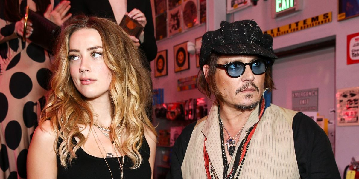 Johnny Depp Allegedly Wrote On The Wall With His Mutilated Finger To Terrorize Amber Heard
