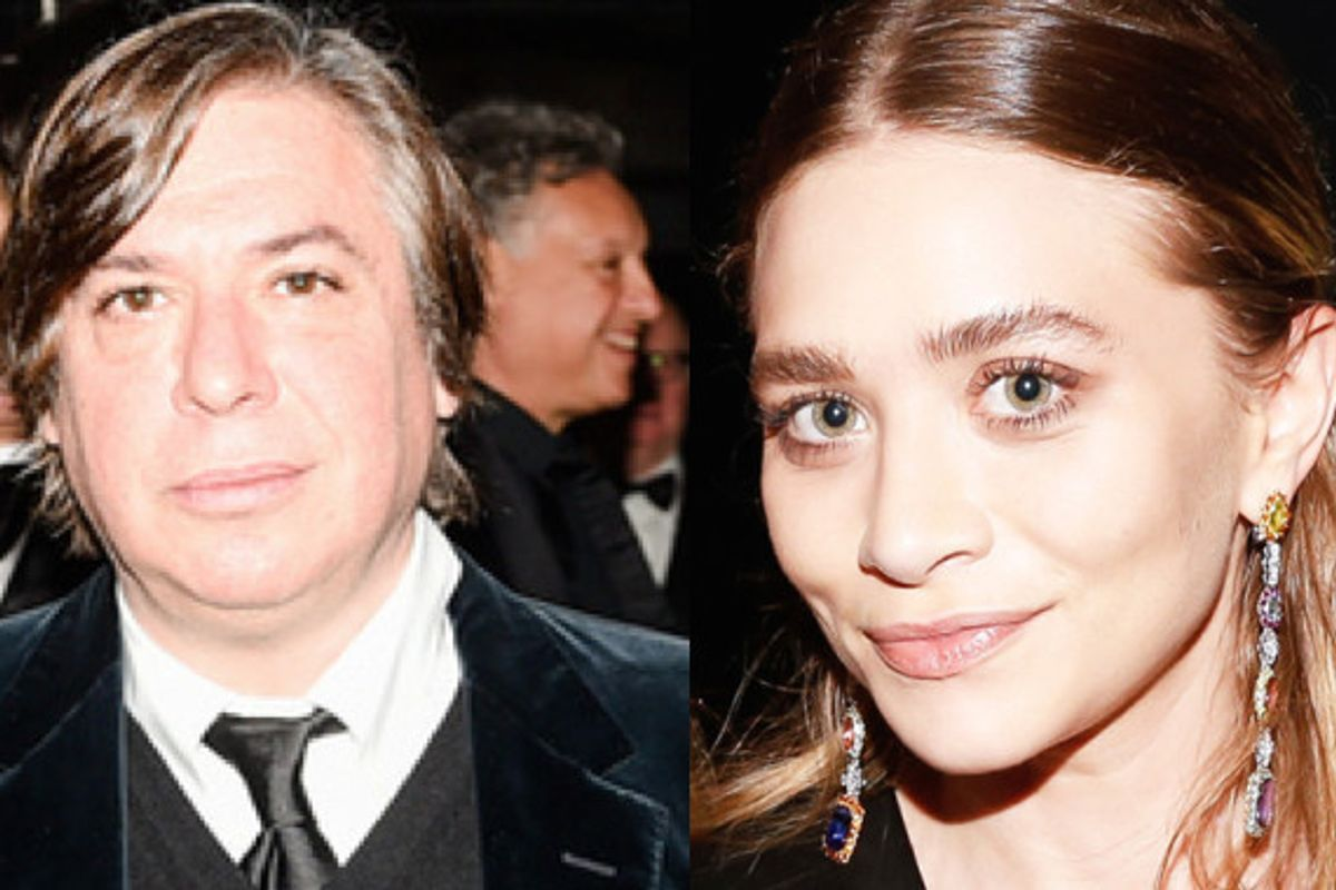 Is Ashely Olsen Dating Artist George Condo?