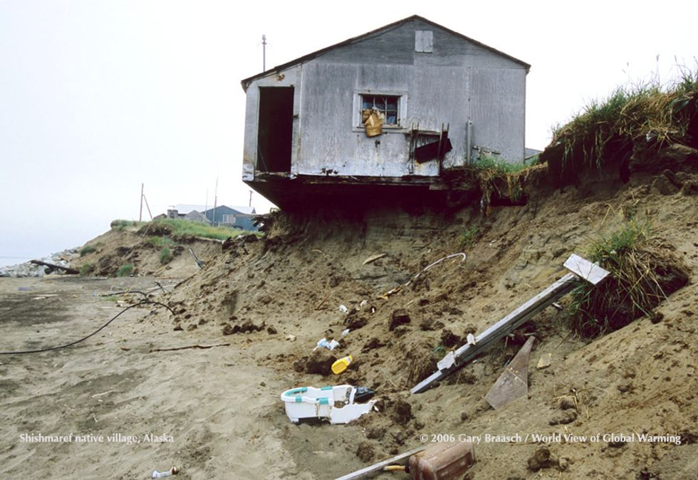 Alaska Village Votes to Relocate Due to Rising Sea Levels
