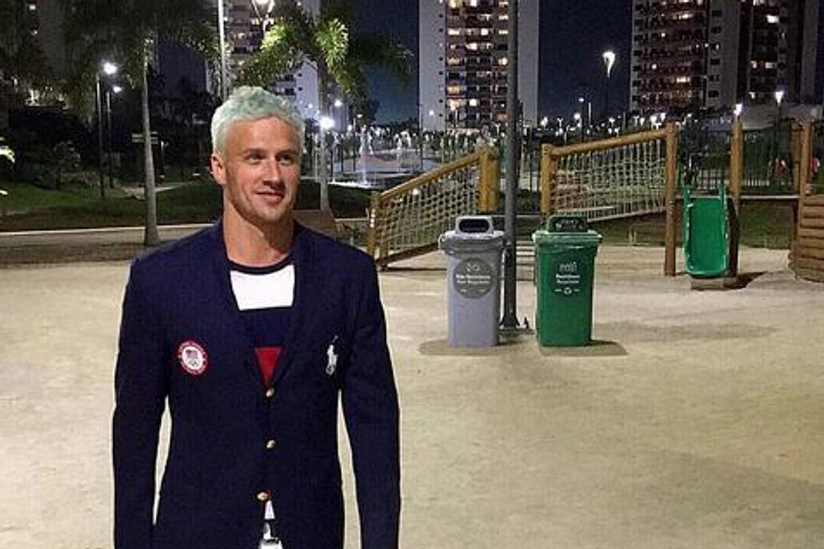 UPDATE: Ryan Lochte and Olympic Teammates Lied About Robbery To Cover Up Gas Station Vadalism