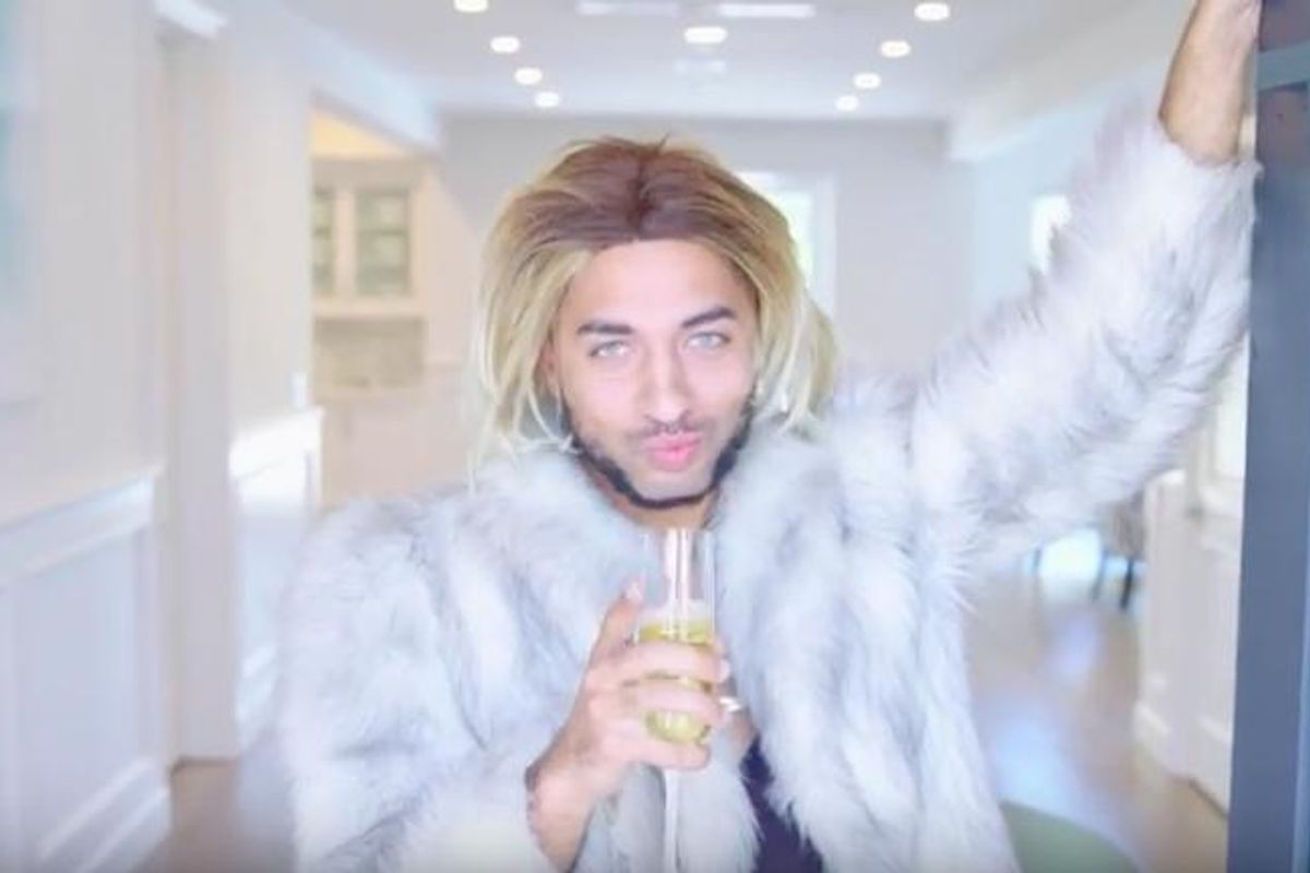 Watch Joanne the Scammer's New Video: 'Caucasian Living'