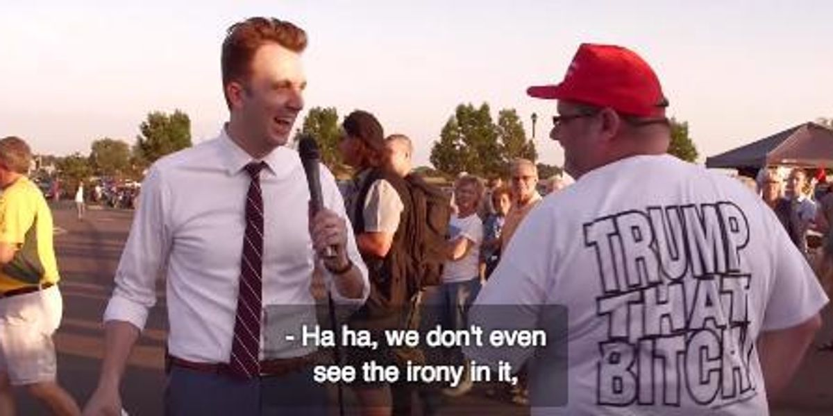 Watch The Daily Show Gloriously Troll Trump Supporters