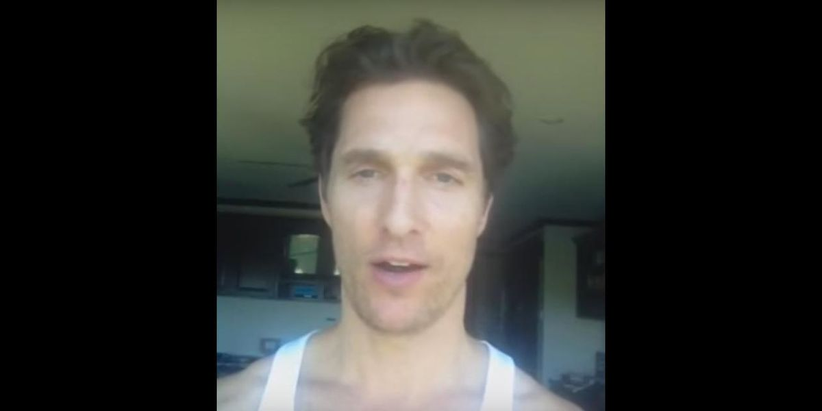 Every Video On Matthew McConaughey's Recently Discovered Youtube Channel