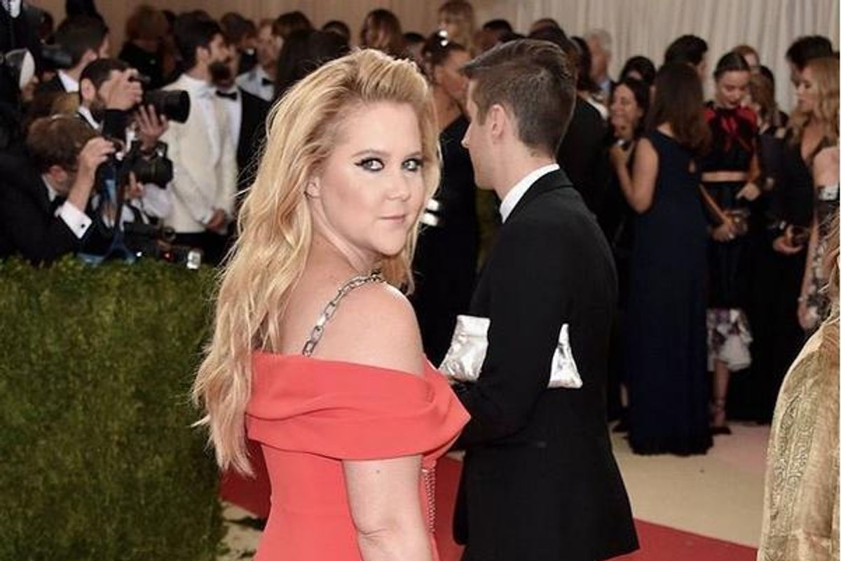 Welp! Guess Amy Schumer Isn't Going To The Met Ball Next Year