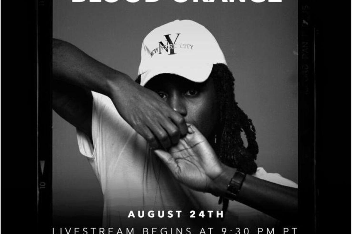 "Watch Blood Orange Perform ""Freetown Sound"" In Its Entirety Tonight Via Tidal"