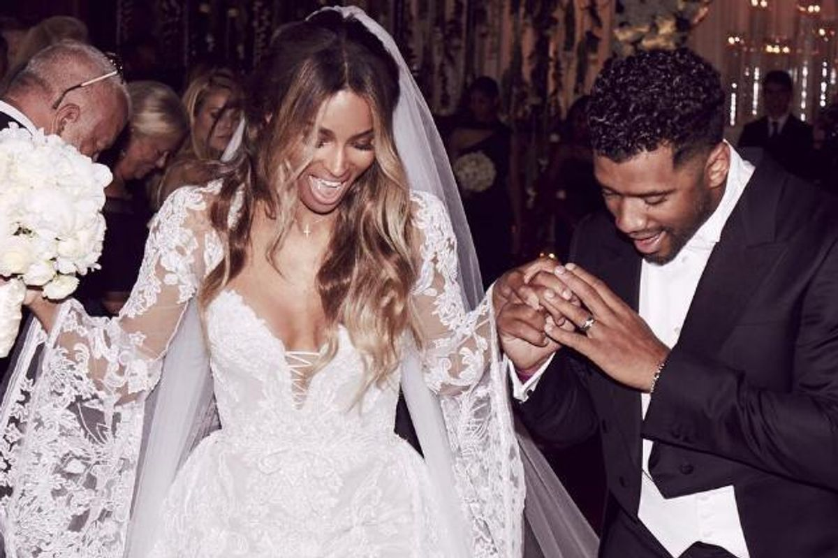 Ciara and Russell Wilson Didn't Get Married in North Carolina Because of the HB2 Bill