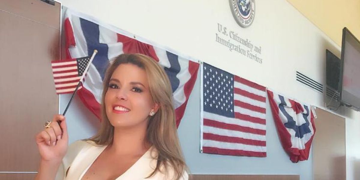 Former Miss Universe Becomes A US Citizen To Vote Against Trump