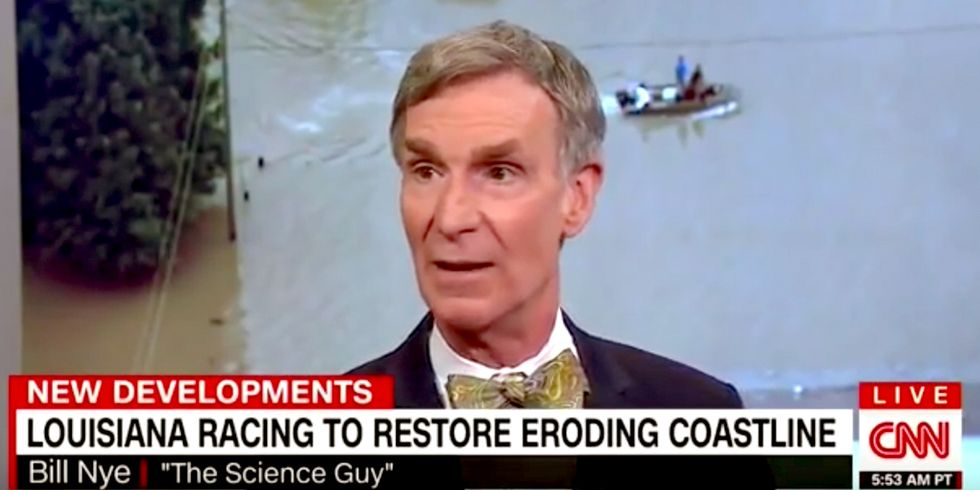 Bill Nye: 'There's Enough Wind and Solar' to Power the World