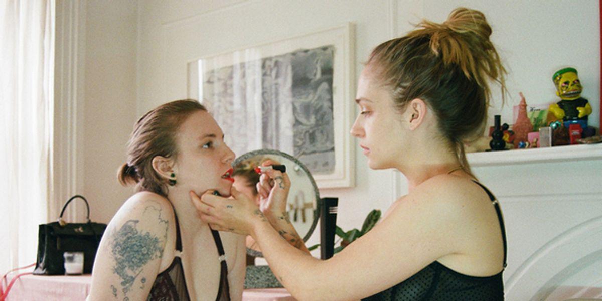 Lena Dunham and Jemima Kirke Strip Down for Lonely Girls