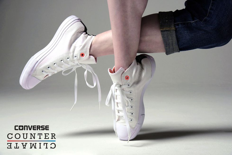 Dancing From Morning to Night in Converse's Shield Canvas Sneakers