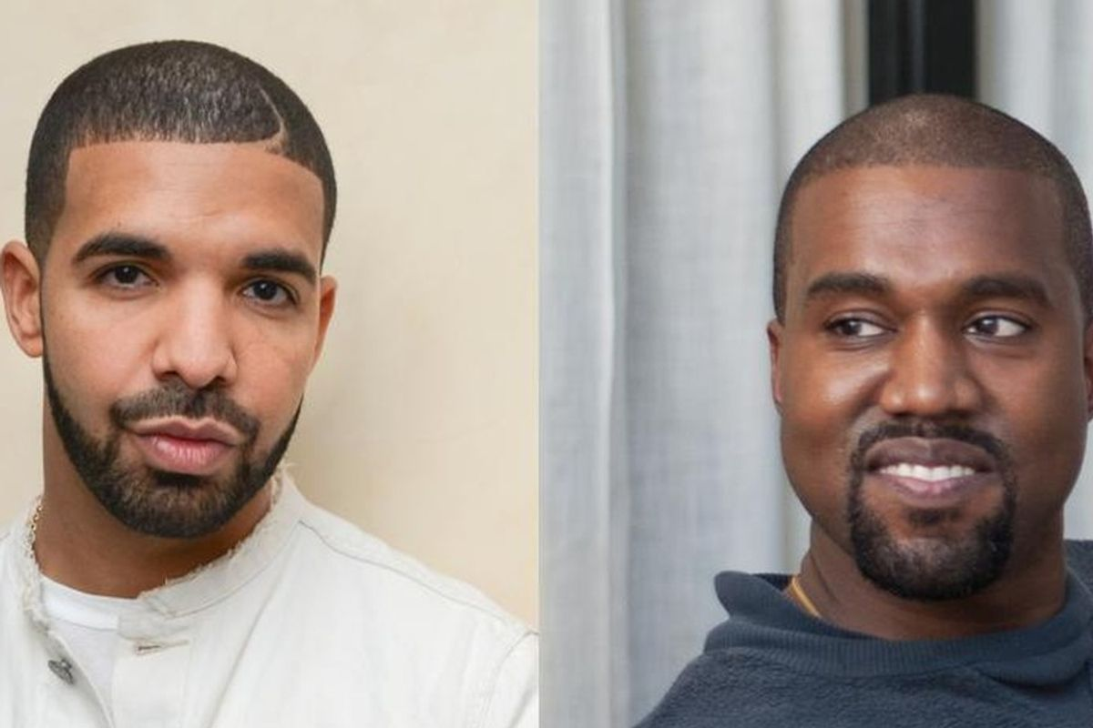 Cryptic Drake/Kanye Billboard Appears In Los Angeles
