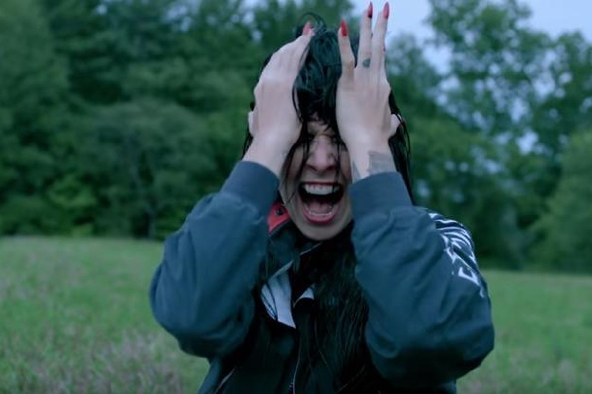 """Watch Sleigh Bells' Messy and Epic New Video For """"It's Just Us Now"""""""