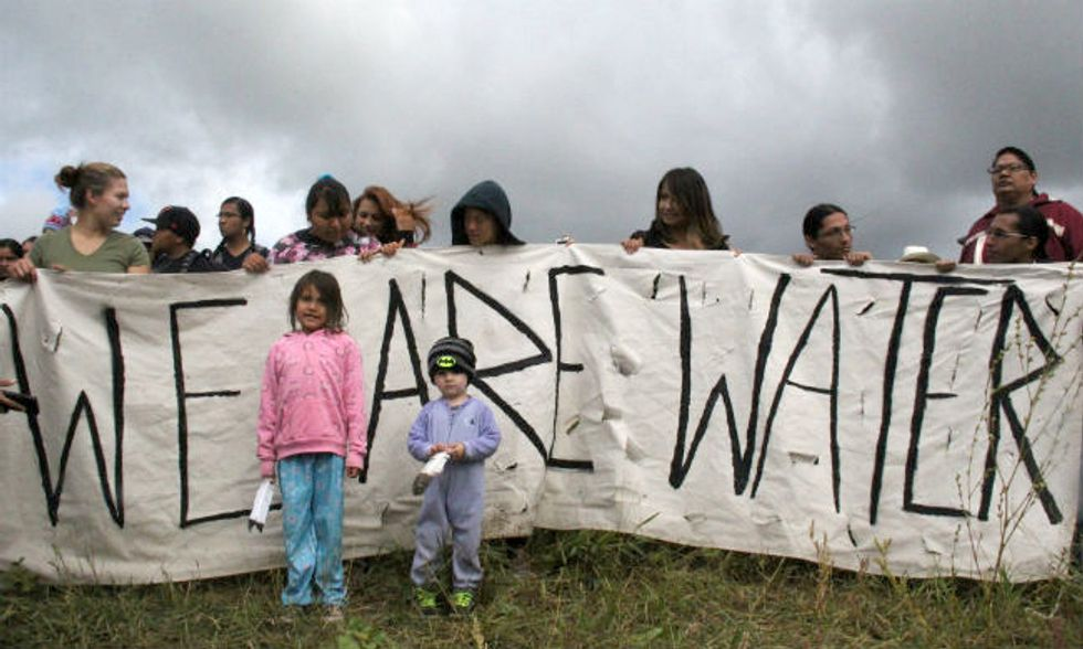 We Stand in Solidarity with Sioux Nation to Stop Dakota Access Pipeline