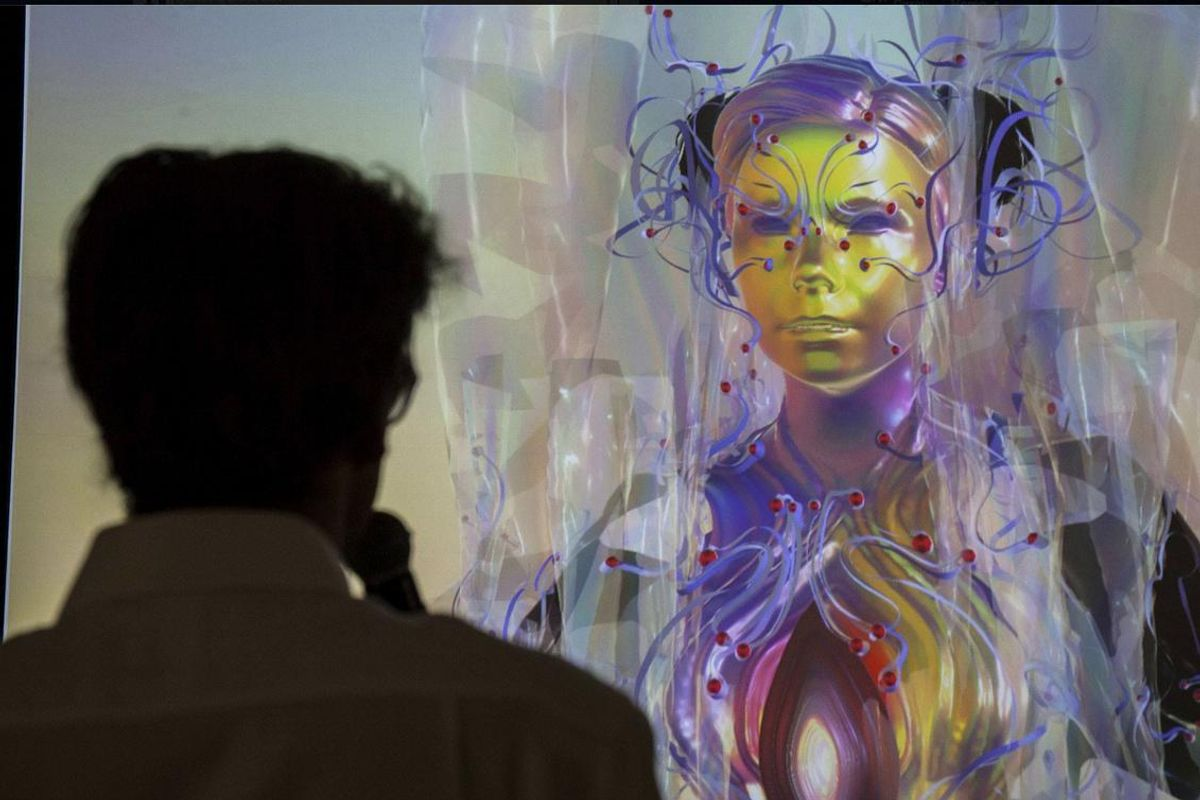Björk Opens London Exhibit As A Live-Motion Capture Avatar Of Herself
