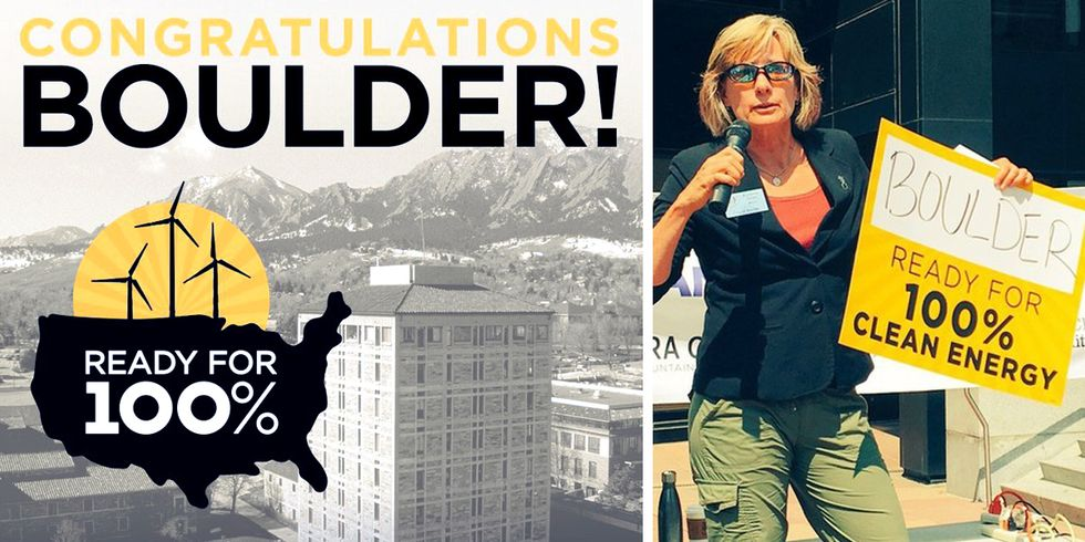 Boulder Commits to 100% Clean Energy