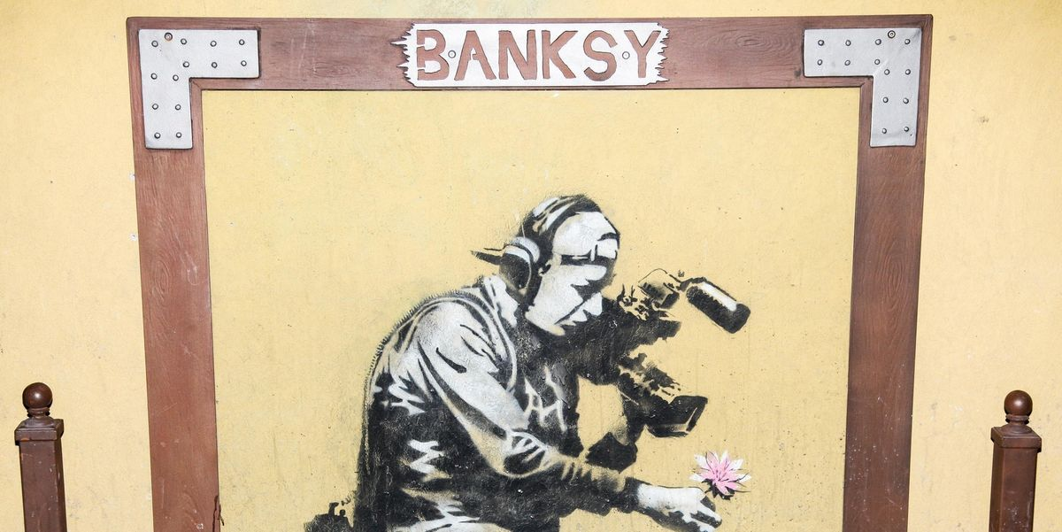 The Internet Now Thinks Banksy Is A Member Of Massive Attack