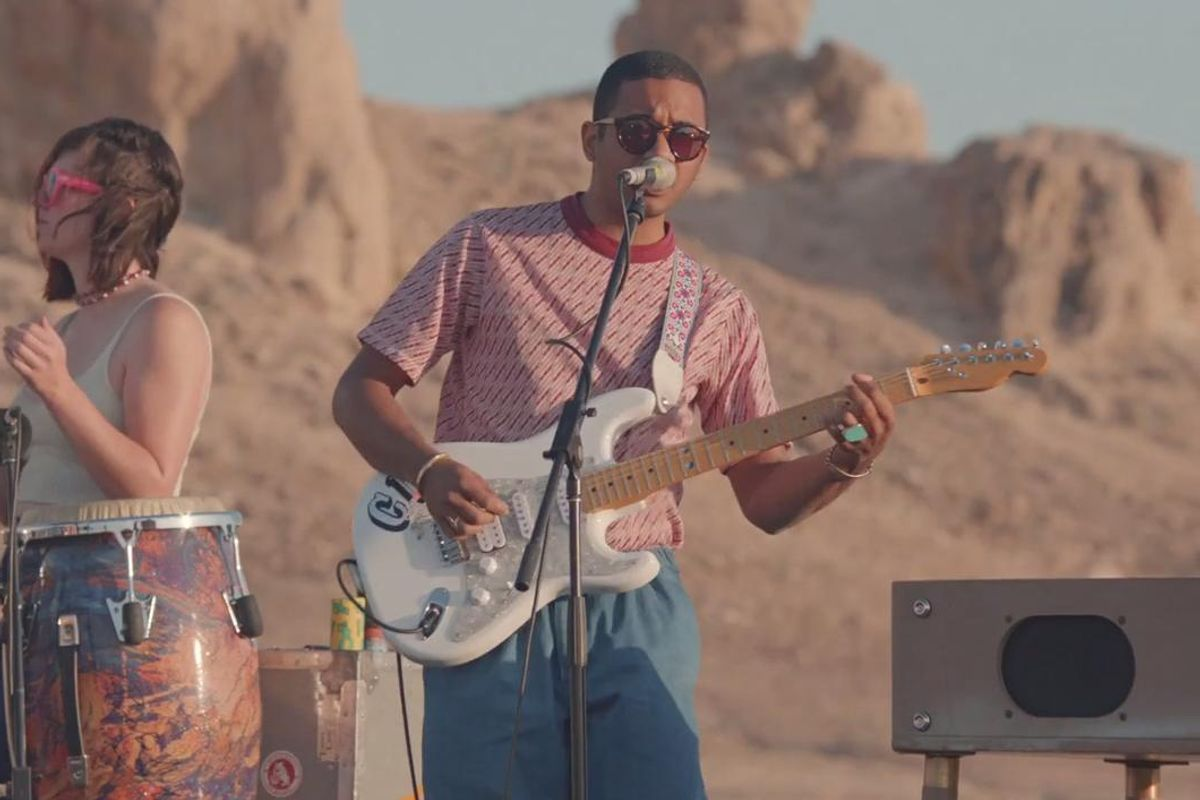 "Toro Y Moi's Chaz Bundick On Creating ""Live From Trona"""