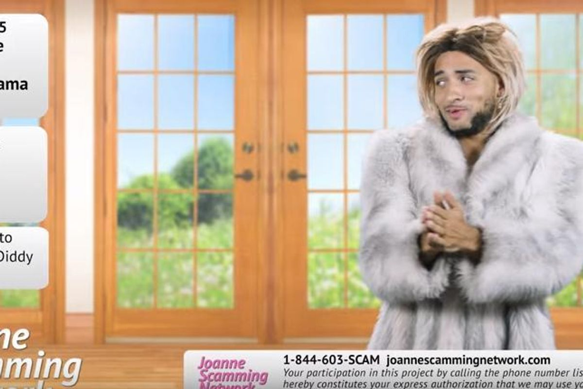Watch The Latest Joanne the Scammer/Super Deluxe Offering: Joanne Takes On HSN