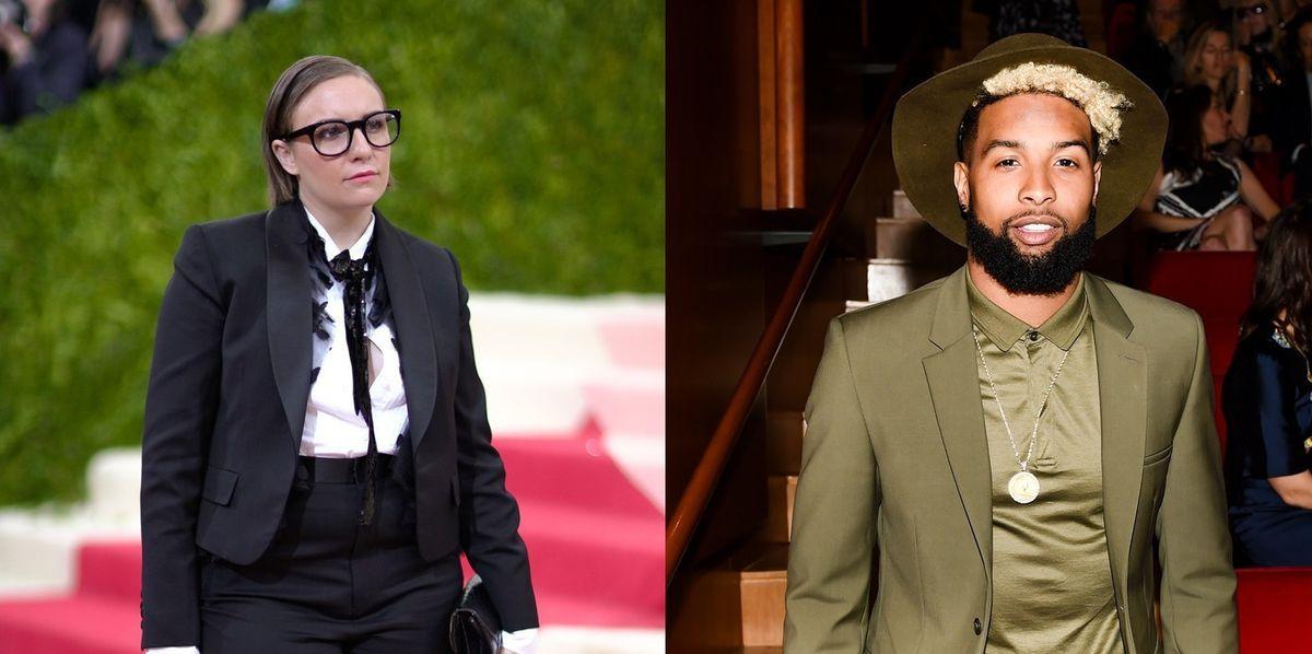 Social Media Calls 'White Privilege' On Lena Dunham For Her Odell Beckham Jr. Comments