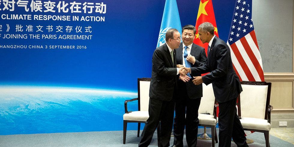 U.S., China Formally Join Paris Climate Agreement