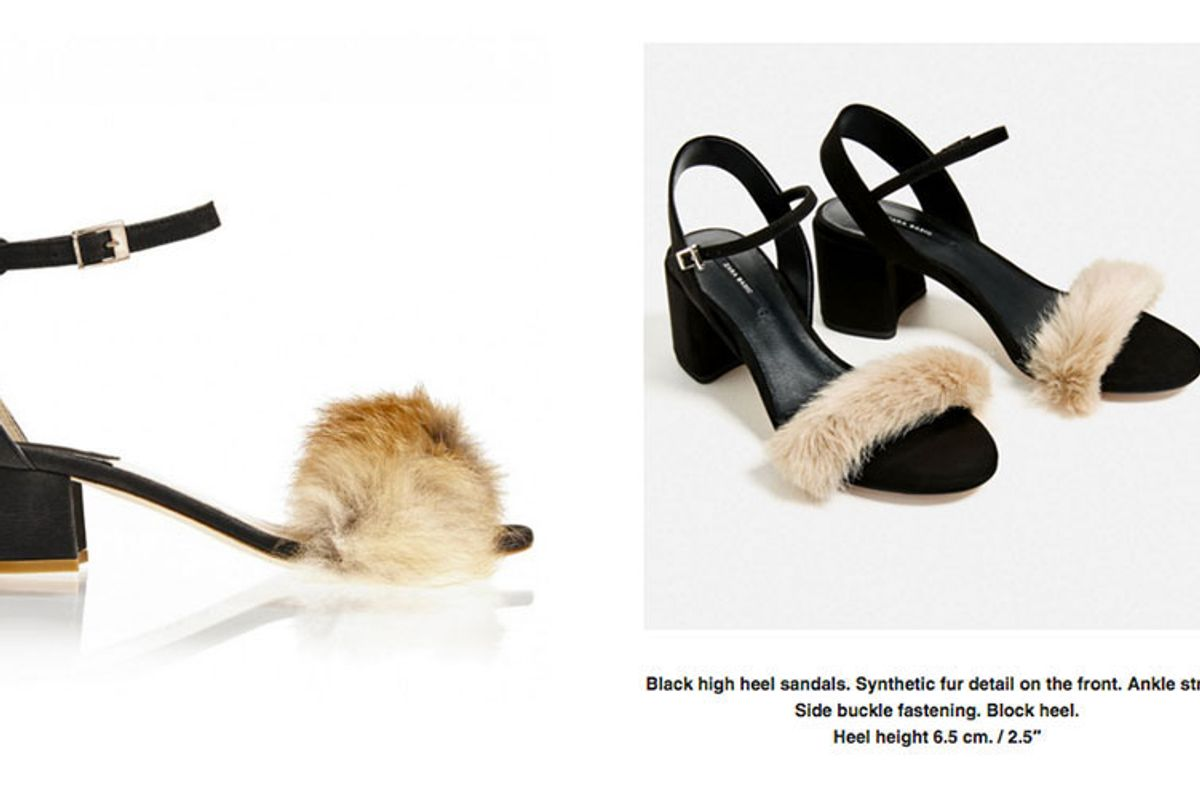 These Zara Sandals Look *a Lot* Like Brother Vellies' Ethically Sourced Designs