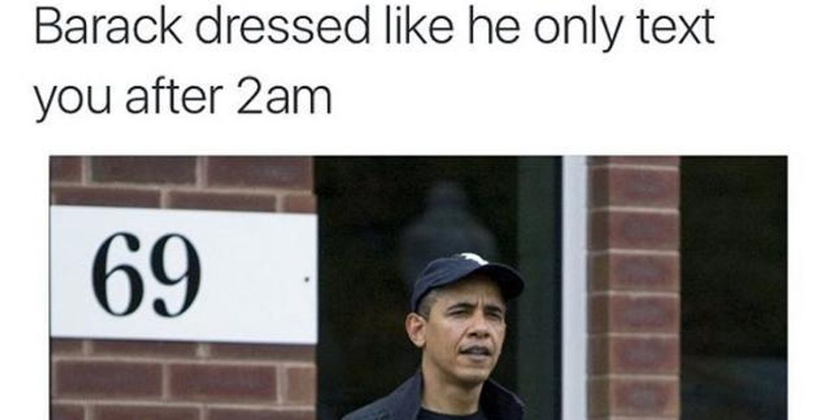 The Internet Is Now Memeing Obama's Tracksuit