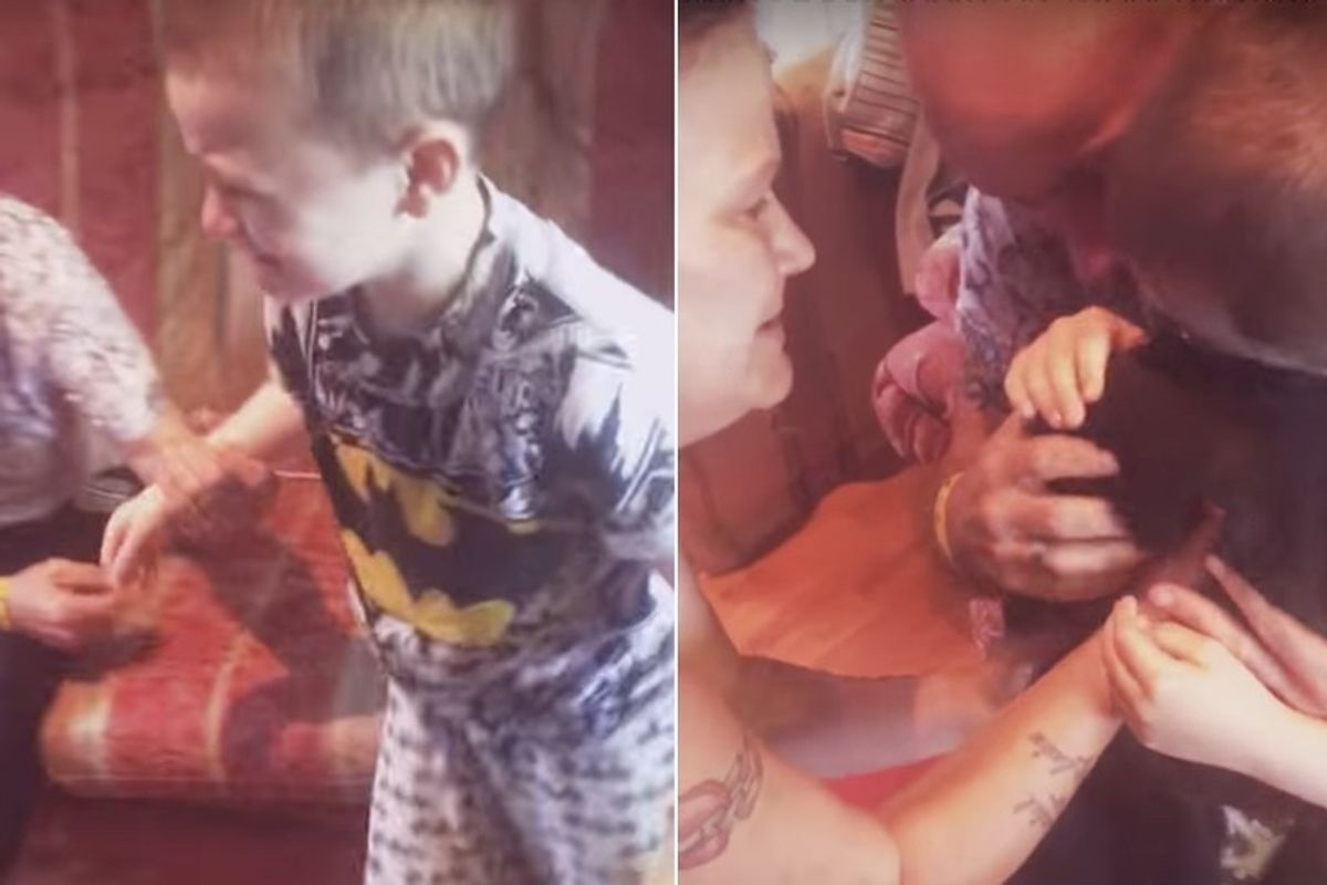 Young Boy Bursts into Tears When He Finds His Missing Cat, His Best Friend