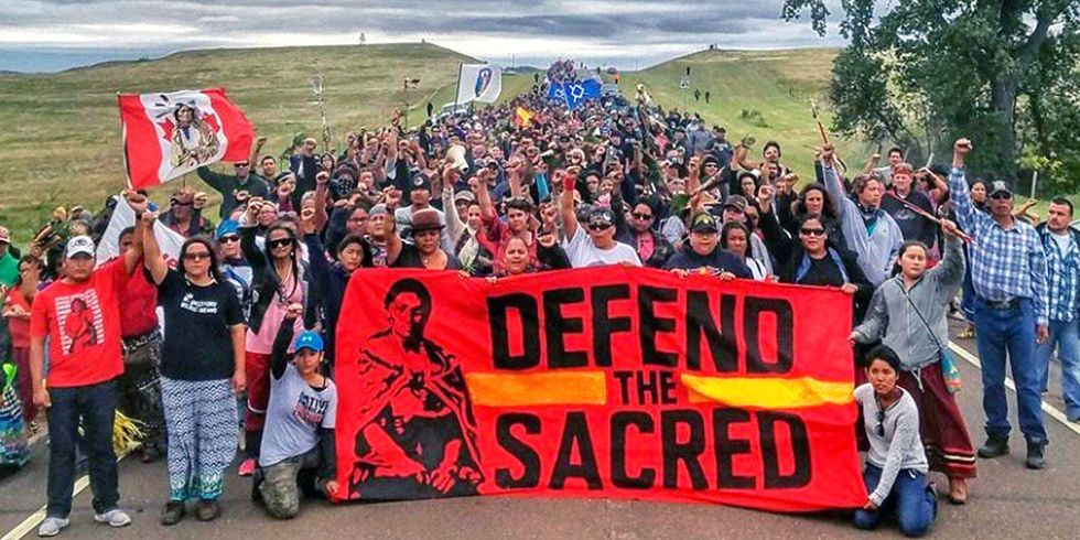 Sacred Burial Grounds Destroyed, Judge Halts Construction on Portion of Dakota Access Pipeline