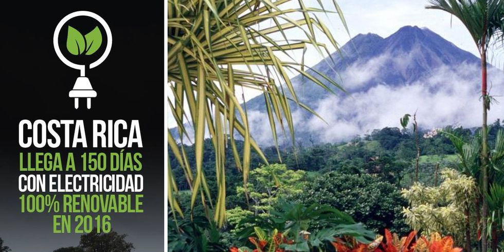 150 Days and Counting, Costa Rica Gets All of Its Electricity From Renewables