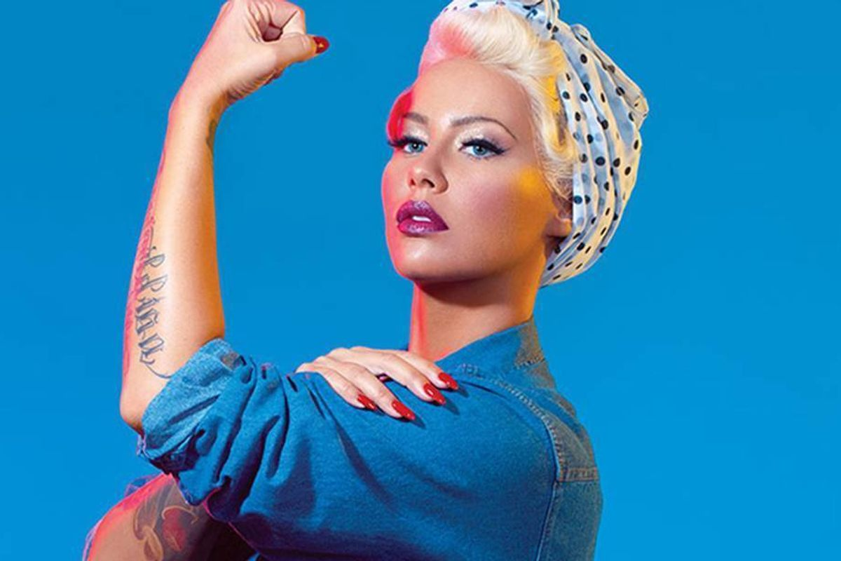 Amber Rose Recently Had Her First Threesome, And Says It Sucked