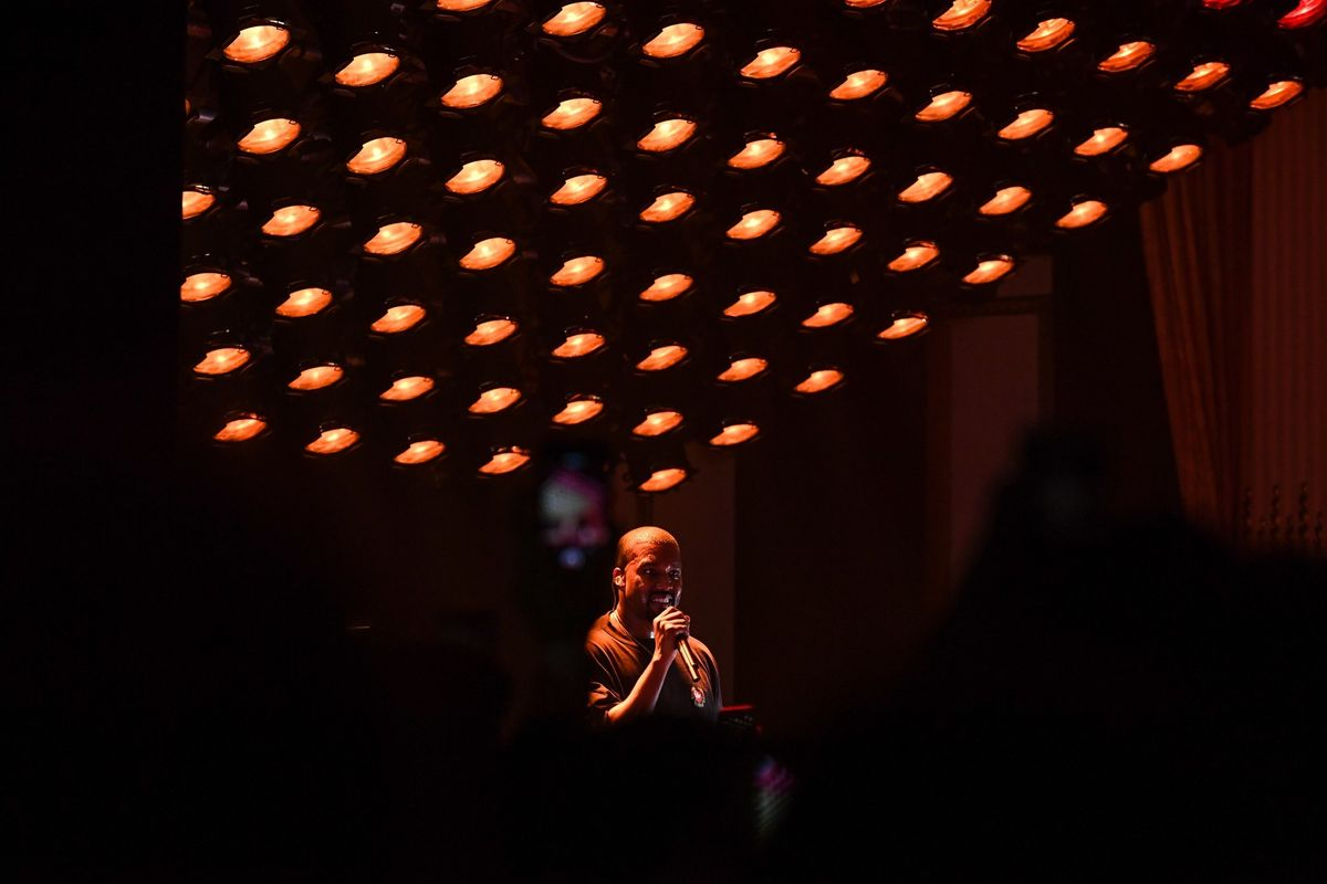 Kanye Gave Himself An Onstage Pep Talk About The Yeezy 4 Debacle At His D.C. Tour Stop