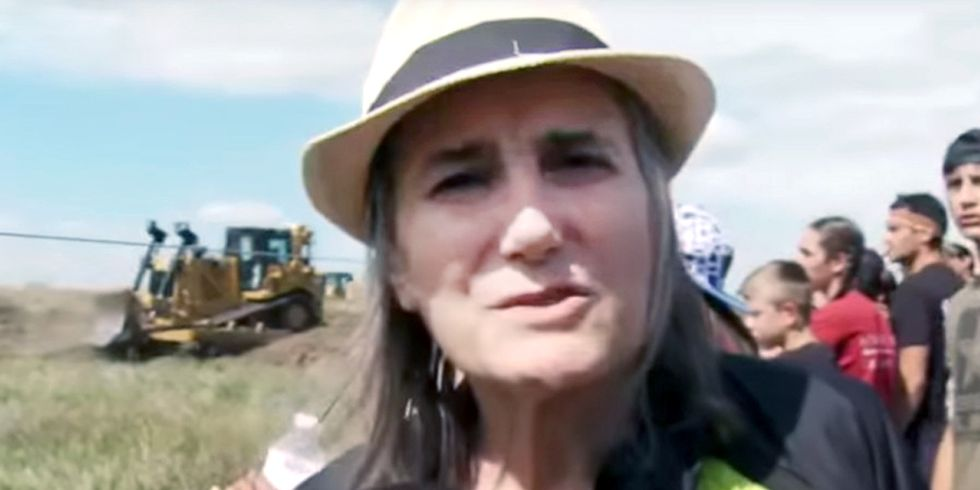 Arrest Warrant Issued for Journalist Amy Goodman for Coverage of Dakota Access Pipeline