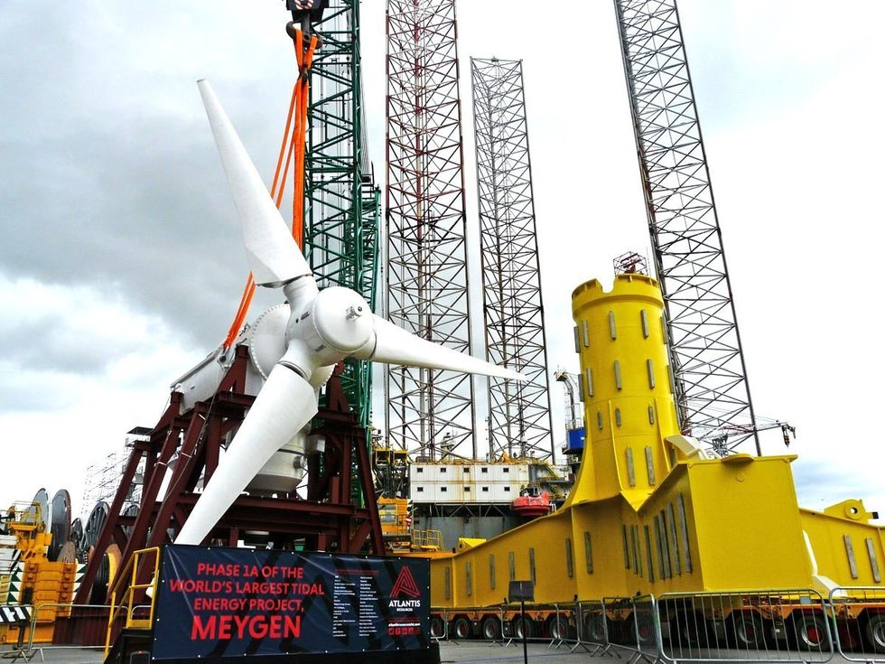 World's Largest Tidal Energy Farm Launches in Scotland
