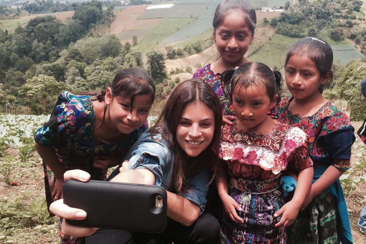 Julia Restoin-Roitfeld On Motherhood and Her Work With Non-Profit Smile Train