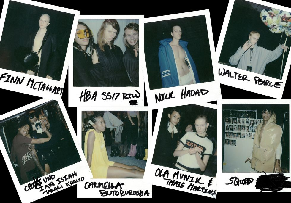 Polaroids From Hood By Air