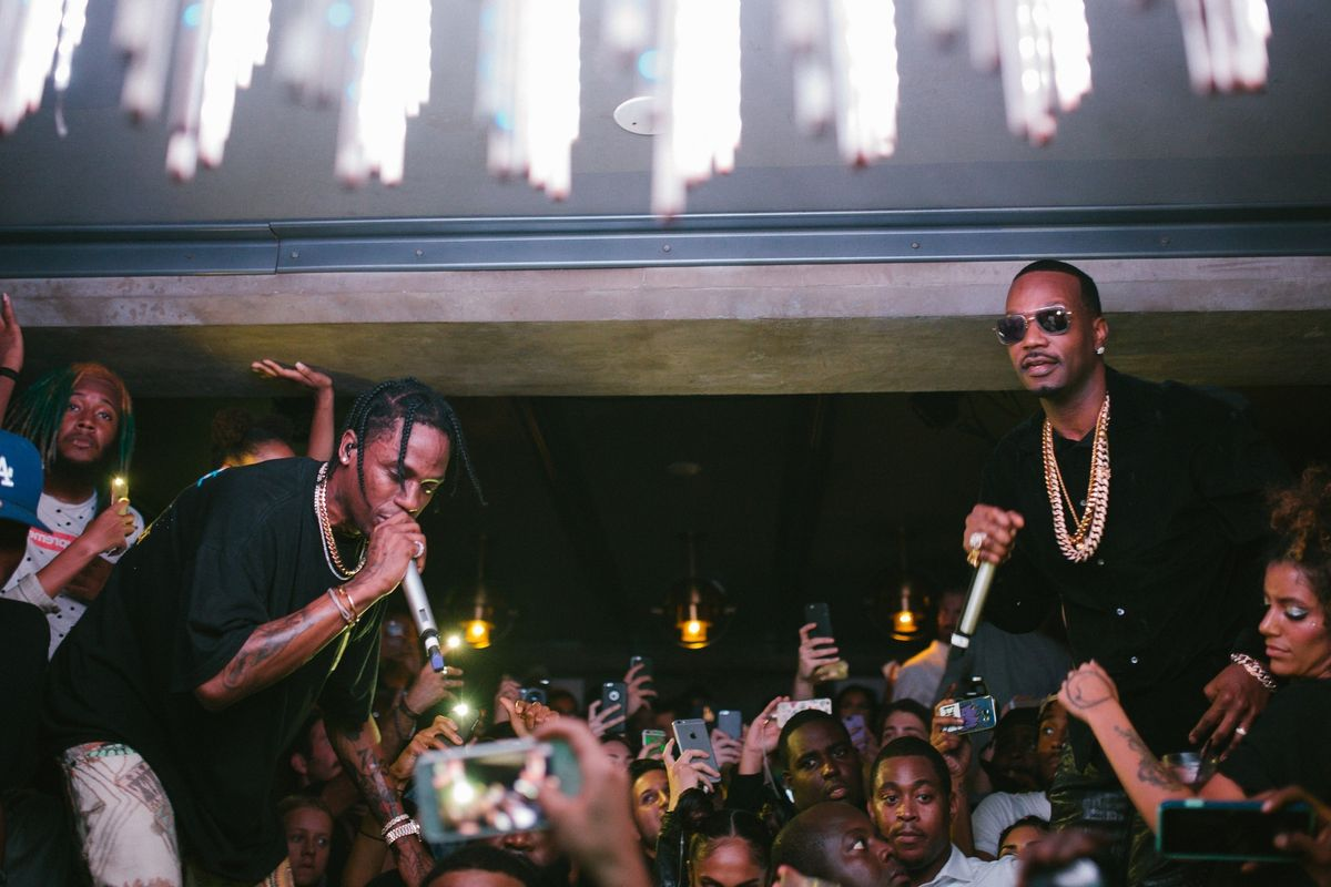 Travis Scott, Rick Ross, Juicy J and More Celebrated at the Nars and PAPER Beautiful People Party