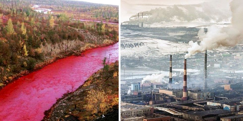 Russia's Red River Another Sad Chapter for One of the Most Polluted Cities on Earth